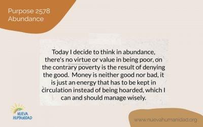 Purpose 2578 Abundance