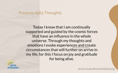 Purpose 2583 Thoughts