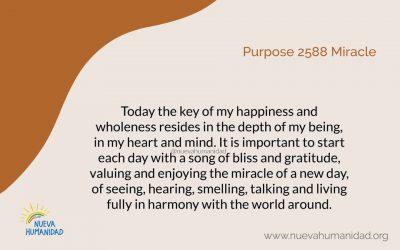 Purpose 2588 Miracle