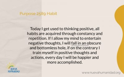Purpose 2589 Habit