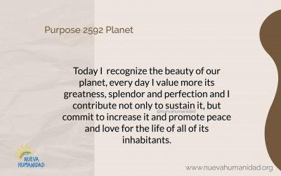 Purpose 2592 Planet