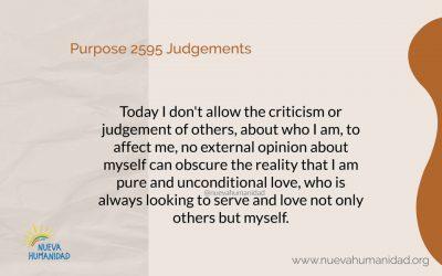 Purpose 2595 Judgements
