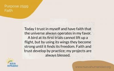 Purpose 2599 Faith