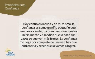 Propósito 2611 Confianza