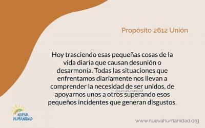 Propósito 2612 Unión