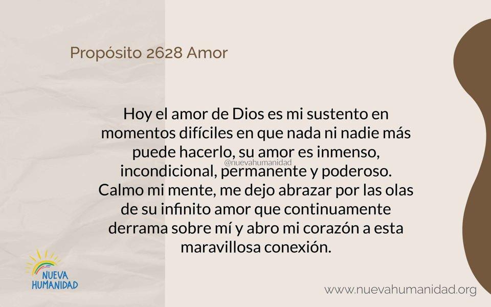 Propósito 2628 Amor