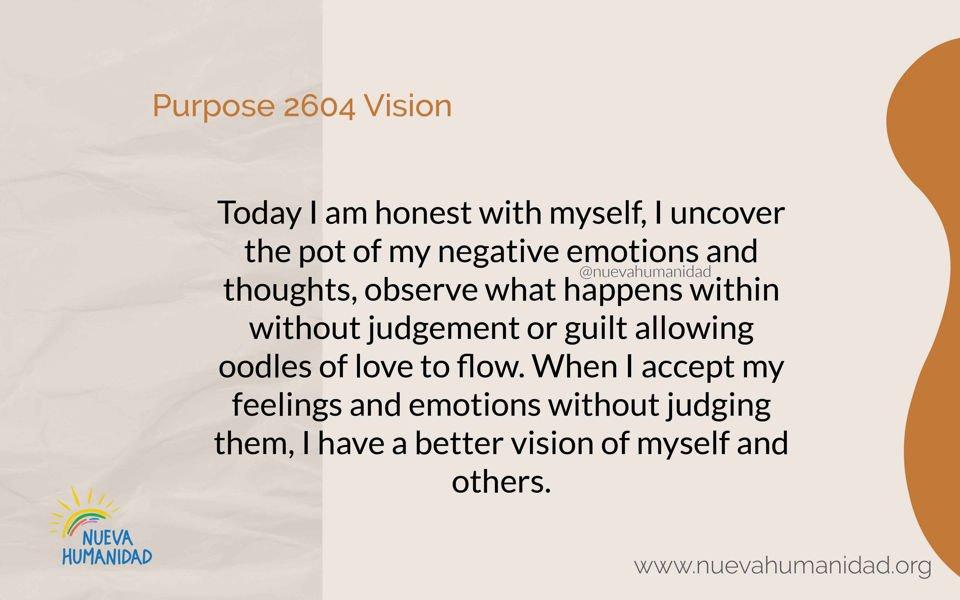 Purpose 2604 Vision