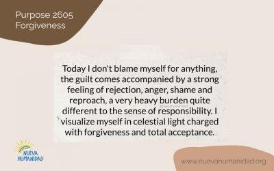 Purpose 2605 Forgiveness