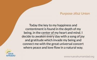 Purpose 2612 Union