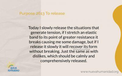 Purpose 2613 To release