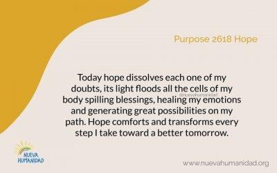 Purpose 2618 Hope