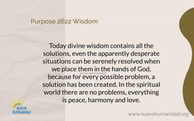 Purpose 2622 Wisdom
