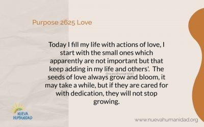 Purpose 2625 Love