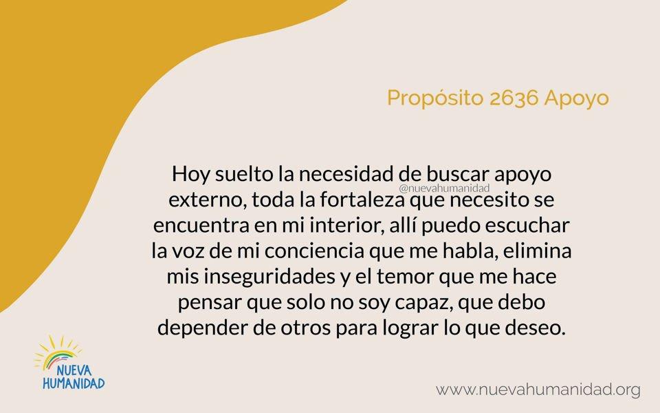 Propósito 2636 Apoyo