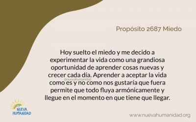 Propósito 2687 Miedo
