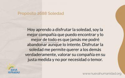 Propósito 2688 Soledad