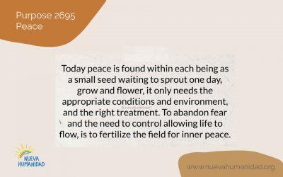 Purpose 2695 Peace
