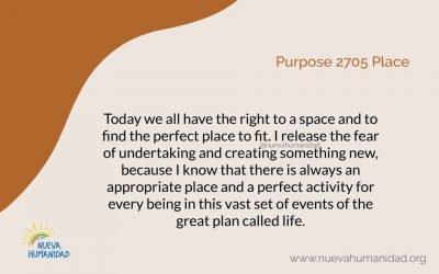 Purpose 2705 Place