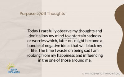Purpose 2706 Thoughts