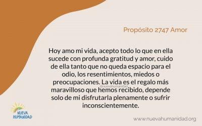 Propósito 2747 Amor