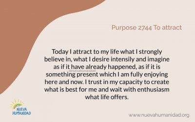 Purpose 2744 To attract