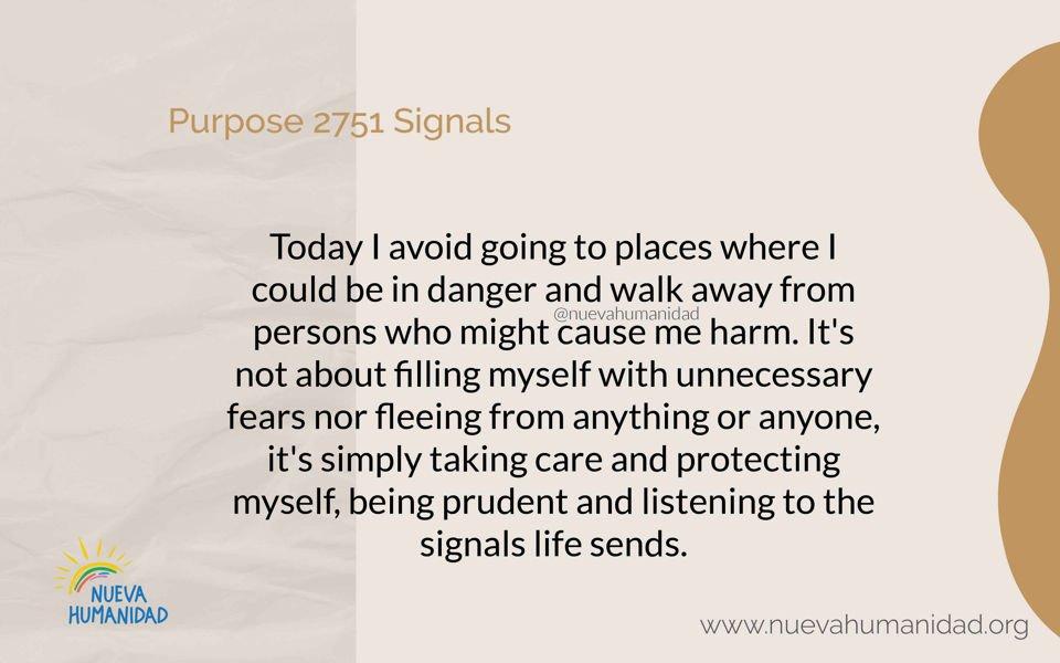 Purpose 2751 Signals