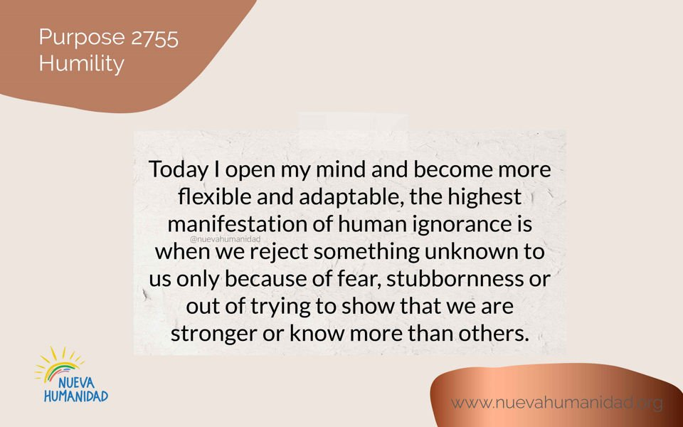 Purpose 2755 Humility