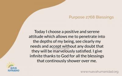 Purpose 2768 Blessings