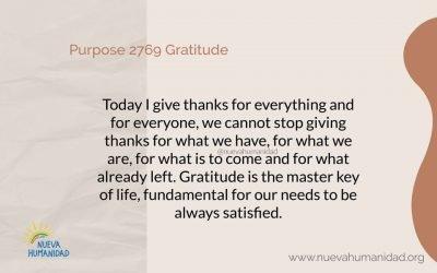 Purpose 2769 Gratitude