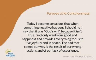 Purpose 2771 Consciousness