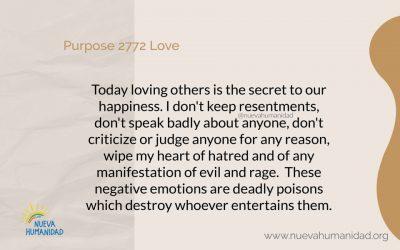 Purpose 2772 Love
