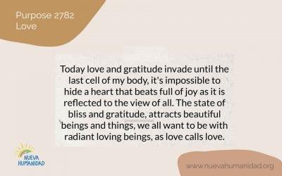 Purpose 2782 Love