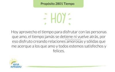 Propósito 2801 Tiempo