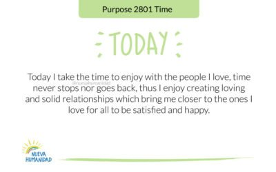 Purpose 2801 Time