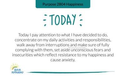 Purpose 2804 Happiness