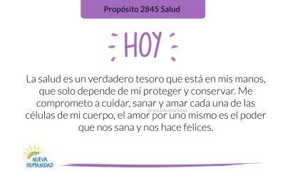 Propósito 2845 Salud