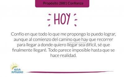 Propósito 2881 Confianza