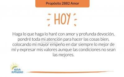 Propósito 2882 Amor