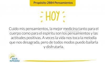 Propósito 2884 Pensamientos