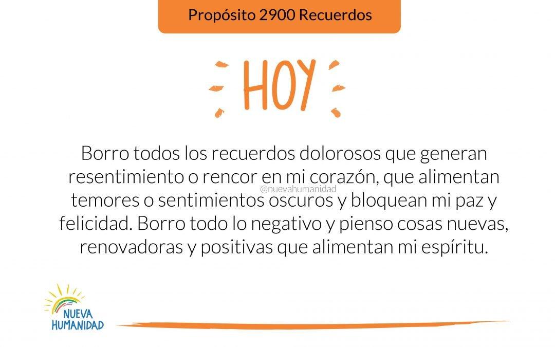 Propósito 2900 Recuerdos