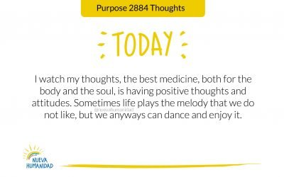 Purpose 2884 Thoughts