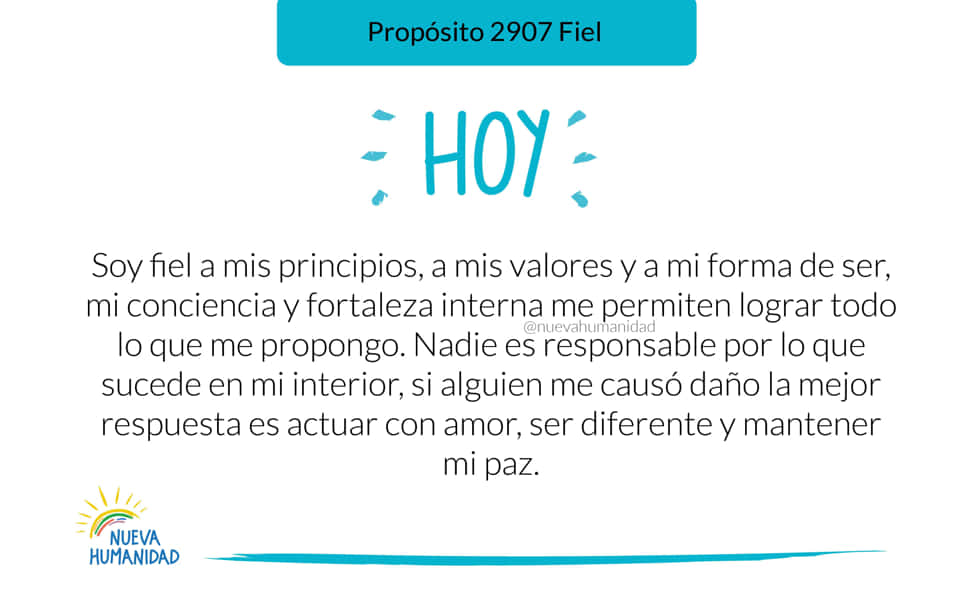 Propósito 2907 Fiel