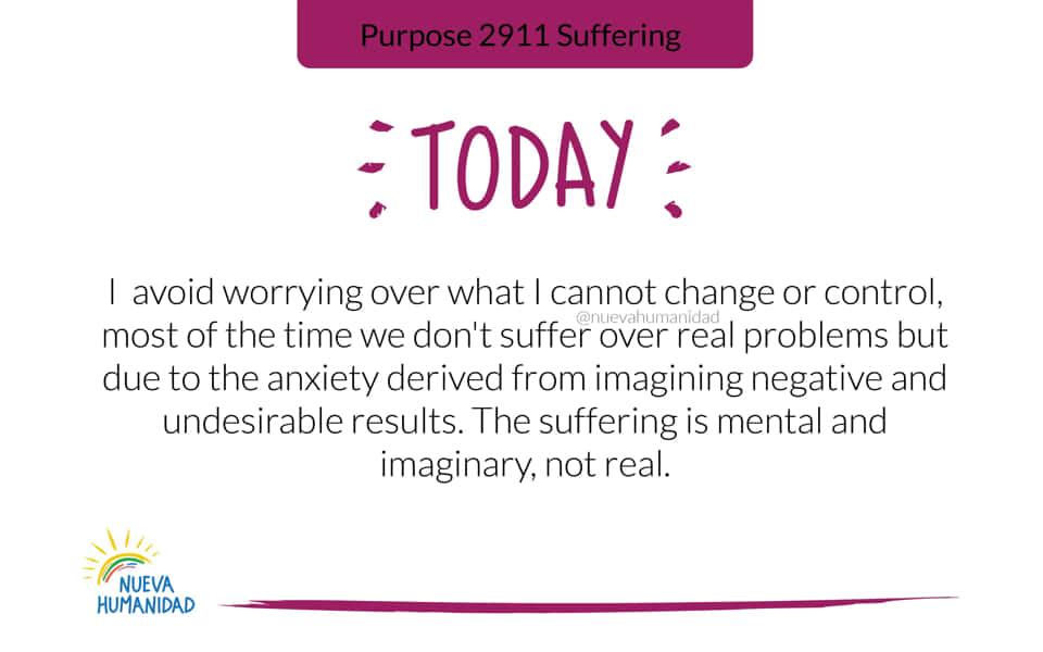 Purpose 2911 Suffering