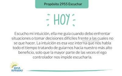 Propósito 2955 Escuchar