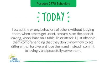 Purpose 2970 Behaviors