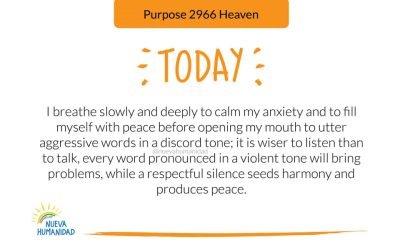 Purpose 2972 Silence