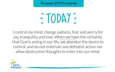 Purpose 2973 Certainty