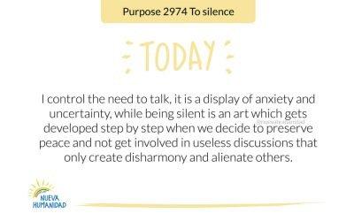 Purpose 2974 To silence
