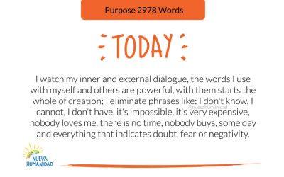 Purpose 2978 Words