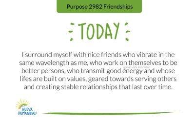 Purpose 2982 Friendships